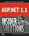 ASP.Net 1.1 Insider Solutions - Alex Homer, David Sussman