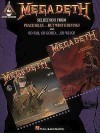 Megadeth: Selections from Peace Sells...But Who's Buying? and So Far, So Good...So What! - Hal Leonard Publishing Company