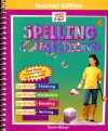 ZB Spelling Connections Grade 6 (Teacher Edition) - Gentry