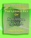 The Lesser Key of Solomon Goetia (1916) - L.W. de Laurence