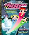 Cartoon Network The Powerpuff Girls Big, Terrible Trouble? Little Golden Book - Craig McCracken