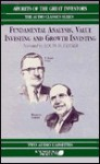 Fundamental Analysis, Value Investing & Growth Investing - Roger Lowenstein, Janet Lowe