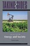 Taking Sides: Clashing Views in Energy and Society - Thomas A. Easton