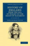 History of England from the Fall of Wolsey to the Death of Elizabeth 12 Volume Set - J.A. Froude