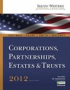 South-Western Federal Taxation 2012: Corporations, Partnerships, Estates and Trusts (with H&r Block @ Home, RIA Checkpoint 6-Months Printed Access Card, CPA Excel ) - William H. Hoffman, William A. Raabe, James E. Smith, David M. Maloney