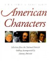 American Characters: Selections from the National Portrait Gallery, Accompanied by Literary Portraits - R.W.B. Lewis, Nancy Lewis
