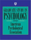 Graduate Study in Psychology - American Psychological Association