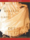 The Measure of a Lady (MP3 Book) - Deeanne Gist, Julia Gibson