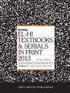 El-Hi Texbooks & Serials in Print, 2013 - R.R. Bowker