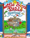 Little Boys Bible Storybook for Mothers and Sons - Carolyn Larsen, Caron Turk