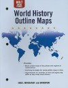 Holt World History Outline Maps: Human Legacy - Holt Rinehart