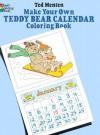 Make Your Own Teddy Bear Calendar Coloring Book - Ted Menten