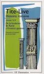 Histoire romaine, livre I à V - Livy