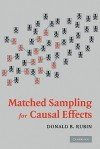 Matched Sampling for Causal Effects - Donald B. Rubin