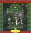The Right Attitude to Rain (Isabel Dalhousie Series #3) - Davina Porter, Alexander McCall Smith