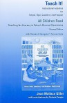 All Children Read: Teach It! Instructional Activities: Teaching for Literacy in Today's Diverse Classrooms [With Access Code] - Charles A. Temple, Jean Gillet