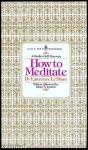How to Meditate - Lawrence LeShan