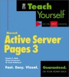 Teach Yourself Microsoft Active Server Pages 3 - Sandra E. Eddy, Simon St. Laurent