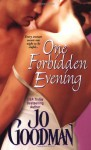 One Forbidden Evening - Jo Goodman