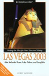 Econoguide Las Vegas 2003: Also includes Reno, Lake Tahoe, and Laughlin - Corey Sandler