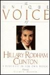 Unique Voice Hillary Rodham Clinton - Claire G. Osborne, Bill Adler