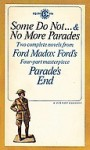 Some Do Not ... & No More Parades - Ford Madox Ford