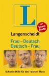 Langenscheidt: Deutsch - Frau / Frau - Deutsch - Langenscheidt, Mario Barth
