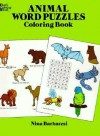 Animal Word Puzzles Coloring Book - Nina Barbaresi