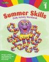 Summer Skills Daily Activity Workbook: Grade 1 (Flash Kids Summer Skills) - Flash Kids Editors