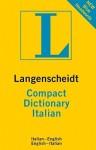 Langenscheidt Compact Dictionary Italian - Langenscheidt Compact Dictionary, Langenscheidt