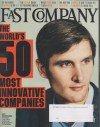 Fast Company March 2014 World's 50 Most Innovative Companies; No. 9 Donorschoose: CEO Charles Best; Google; Tesla; Yelp; Twitter; Apple; Amazon and more - Fast Company