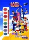 Meet the LazyTown Gang! (Paint Box Book) - Golden Books, Zina Saunders