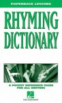 Rhyming Dictionary: A Pocket Reference Guide for All Writers - Hal Leonard Publishing Company