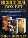 THE SHTF STOCKPILE BOX SET 3 IN 1: 43 Outstanding DIY Survival Skills You Need For Long-Term Survival: (The SHTF Stockpile books, STHF, Survival handbook,) - Chris Brooks, Bryan Tockler, Bryan Damp
