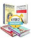 MEDITATION BOX SET: Meditation For Beginners: Learn Simple Meditation Techniques to Increase Productivity And 55 Ways to Improve Your Buddhist Meditation ... meditation books, how to meditate) - Alex Gill, Harry Richards, Kenneth Thompson, Jessica Green