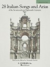 Italian Songs and Arias of the 17th and 18th Centuries - Medium Low - G. Schirmer