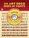 24 Art Deco Display Fonts CD-ROM - Dan X. Solo