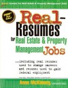Real-Resumes for Real Estate and Property Management Jobs - Anne McKinney