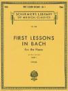 First Lessons in Bach - Book 1: Piano Solo - Johann Sebastian Bach