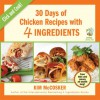 30 Days of Chicken Recipes with 4 Ingredients - Kim McCosker