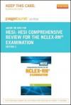Hesi Comprehensive Review for the NCLEX-RN Examination Access Code - HESI