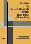 Der Wissenschaftstheoretische Realismus Und Die Autoritat Der Wissenschaften - Paul Karl Feyerabend