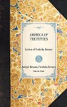 America of the Fifties: Letters of Fredrika Bremer - Fredrika Bremer, Adolph Benson, Carrie Catt