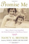 Promise Me: How a Sister's Love Launched the Global Movement to End Breast Cancer - Nancy G. Brinker, Joni Rodgers