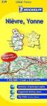 Michelin Map France: Nievre, Yonne 319 - Michelin Travel Publications