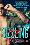 Sizzling 7: Super Sexy New Adult Romance Boxed Set - Cari Quinn, Brenna Aubrey, M. Malone, Suzan Butler, Marie Hall, Molly McLain, Violet Vaughn