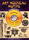 Art Nouveau Motifs CD-ROM and Book - Dover Publications Inc.