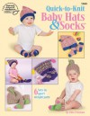 Quick-to-Knit Baby Hats & Socks - Edie Eckman, Kathy Wesley