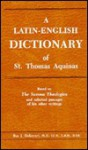 Latin-English Dictionary - Roy J. Deferrari