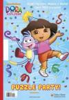 Puzzle Party! (Dora the Explorer) - Golden Books, Warner McGee